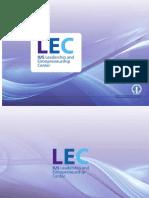 IUS LEC Center info brochure
