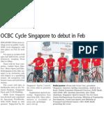 OCBC Cycle Singapore 2009, 19 Nov 2009, Business Times