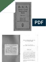 Bsa 1936 Manual