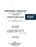 Directional Astrology by V.G.RELE (READ DESCRIPTION WITHOUT FAIL)