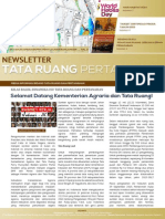 Newsletter Tata Ruang dan Pertanahan Edisi November 2014