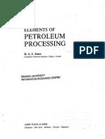 Elements of petroleum processing