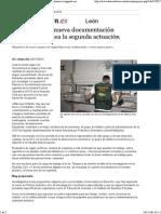 20141124 La UCO Recibe Nueva Documentación Anónima y Planea La Segunda Actuación - León - Diario de León