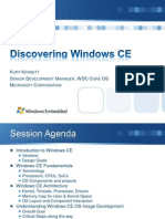 Discovering Windows CE