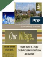 Higher Kinnerton December 2014 Newsletter