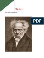 Schopenhauer und die Frauen