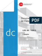 Documentos de Classificação - Armaduras