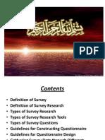 Survey Research Method