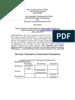 UT Dallas Syllabus for mas6v03.x28.07f taught by Michael Oliff (mdo021000)