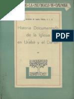 Historia Documentada de La Iglesia en Urabá y El Darién, Vol. 2