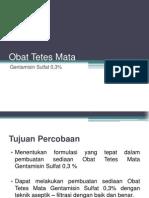 OTM Gentamisin Sulfat 0,3%
