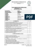 Check List Aprobacion Cat II y III