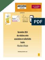 Baromètre relations associations / collectivités