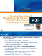 Emerging Countries and Manufacturing IT Solutions Will Shape the Automotive Industry Landscape