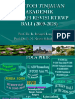 Peninjauan Akademik Naskah Revisi RTRW