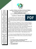 Apelo Encontro CDEP 19-Abril