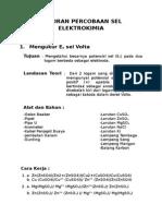 Laporan Percobaan Sel Elektrokimia1