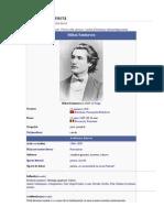 Informatii Despre Mihai Eminescu