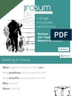 GroSum - Performance Management Delivered