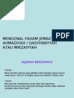 Ahmadiyah Power Point