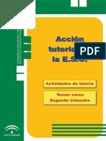 Programa anual de tutoría 3º ESO - Segundo trimestre