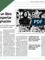 El Inventor de Viajes - Diario del Alto Aragón (25 Nov 2014)