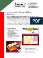 Optical Add Drop Multiplexer