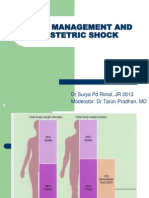 Fluid Management and Obstetric Shock