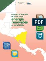 Guia Para El Desarrollo de Proyectos de Energia Renovable en Nicaragua