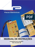Manual CWL75A placas eletronicas