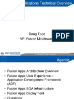 Fusion Application Technical Overview