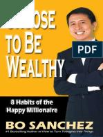 Bo Sanchez-Choose to Be Wealthy
