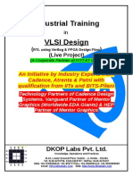 Industrial Training Vls i Design