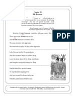 Worksheet 3 for Grammar-Land or, Grammar in Fun for the Children of Schoolroom-Shire by M.L. Nesbitt (by Jessica Cain)