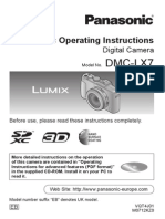 Panasonic Lumix LX7 manual