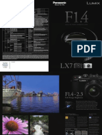 Panasonic LX7 Catalog
