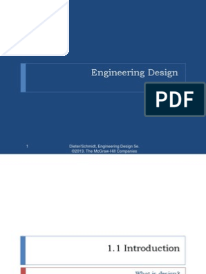 Engineering Design Engineering Design Process Engineering
