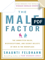 The Male Factor by Shaunti Feldhahn - Excerpt