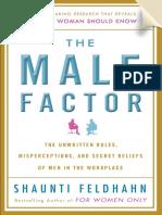 The Male Factor by Shaunti Feldhahn - Excerpt
