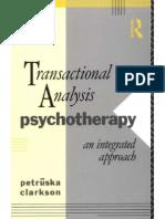 Transactional Analysis - Petruska Clarkson