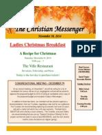 November 30 Newsletter