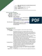 UT Dallas Syllabus for biol3350.081.07u taught by Ilya Sapozhnikov (isapoz)