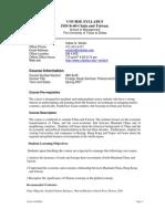 UT Dallas Syllabus for ims8v40.581.07u taught by Habte Woldu (wolduh)
