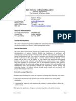 UT Dallas Syllabus for ims5200.582.07u taught by Habte Woldu (wolduh)