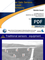 Distributed Fiber Optic Sensors for Dams and Levee Deformation Monitoring
