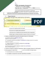 Evaluación de Lenguaje y Comunicación Poema 5º