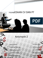 Perbedaan CV Dan PT (Kewirausahaan)