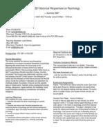 UT Dallas Syllabus for psy3360.521.07u taught by Ralf Greenwald (rrgreen)