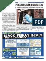 Small Business Saturday - Nov. 29, 2014