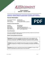 UT Dallas Syllabus for aim6201.0g1.07u taught by Mark Anderson (andersmc)